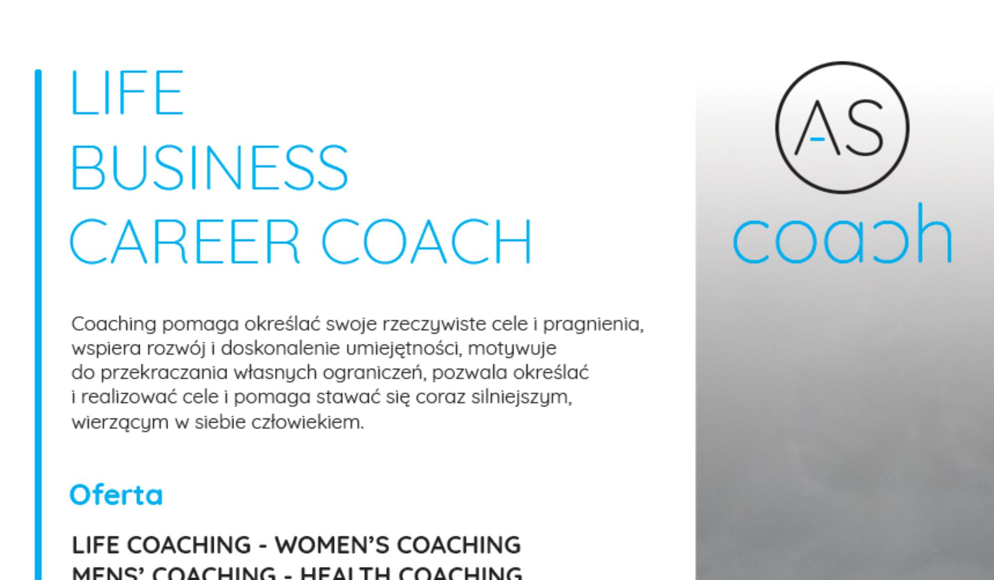 Life & Business & Career Coach Agnieszka Śliwka